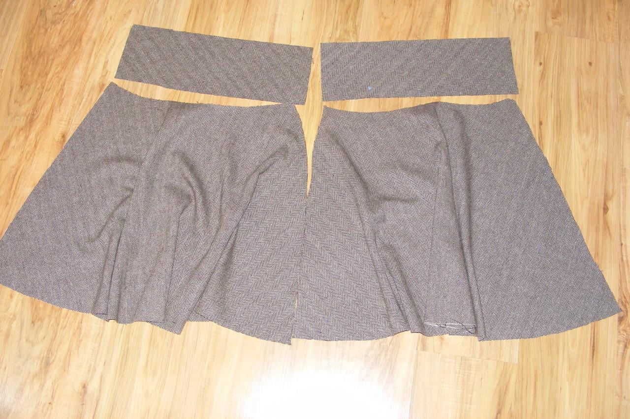 Jak ušít sukni na zip « Nitě všude ab2c92708b