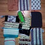 Obaly, taštičky, pouzdra a moje vlastní textilní štítky