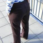 Jak jsem se odhodlala ušít kalhoty
