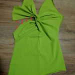 Tričko s uzlem Burda 6911 - postup šití